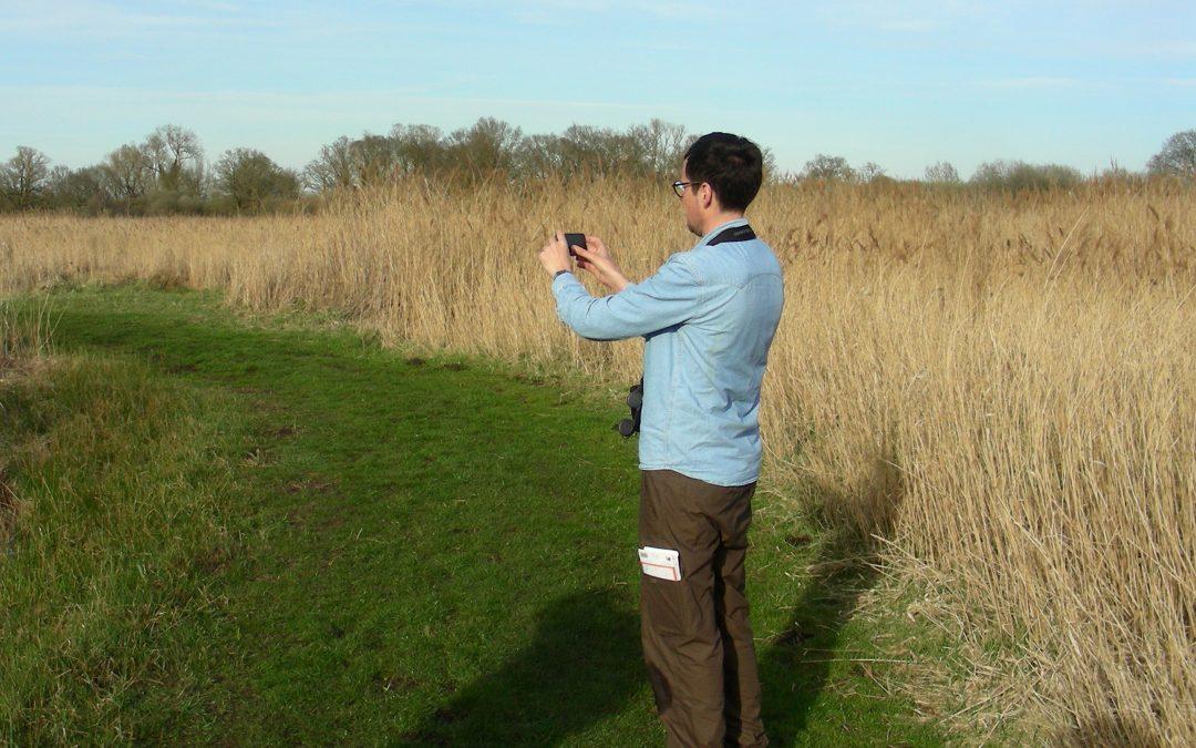 Guardian writer, Patrick Barkham, visits the Fen Edge Trail